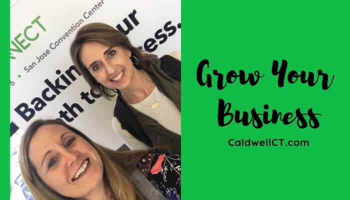 Carla Caldwell at QuickBooks Conference